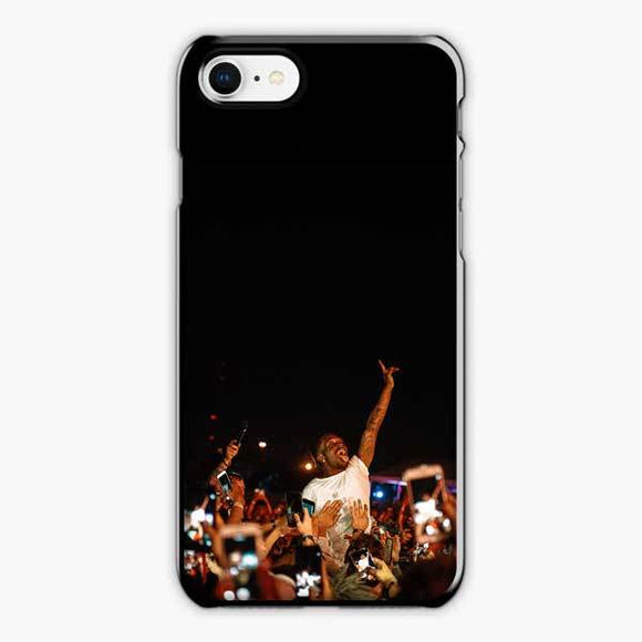 Lil Uzi Vert And Fans iPhone 8 Case, Plastic Black