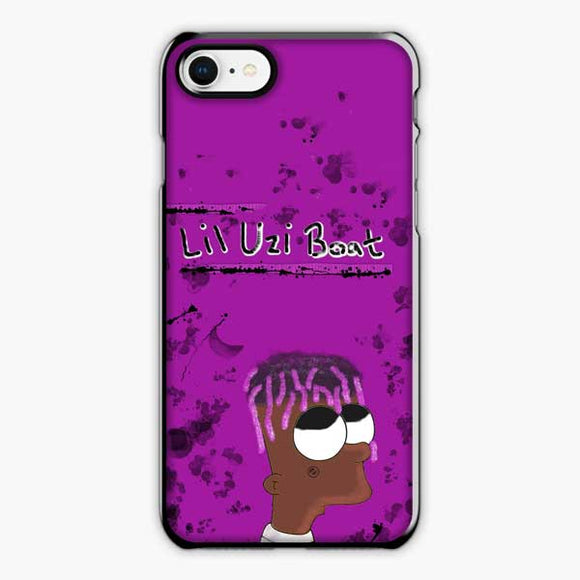 Lil Uzi Vert Boat iPhone 8 Plus Case, Plastic Black