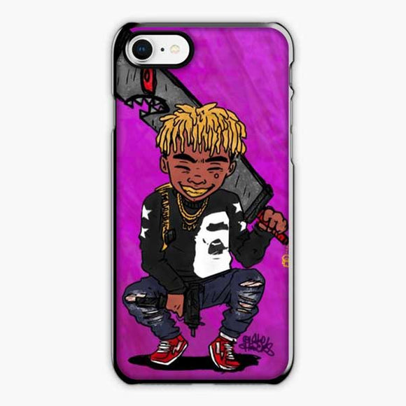 Lil Uzi Vert Dope Hip Hop iPhone 8 Case, Plastic Black