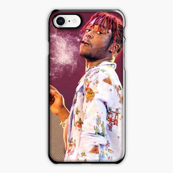 Lil Uzi Vert Dreadlocks Rapper iPhone 8 Case, Plastic Black