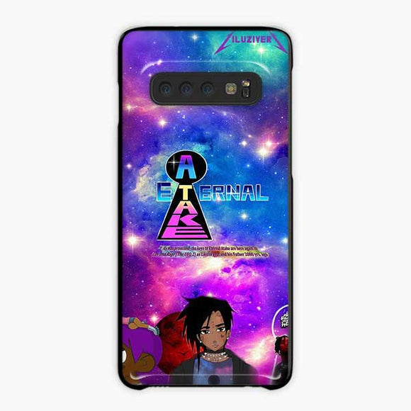 Lil Uzi Vert Eternal Atake Anime Samsung Galaxy S10 Case, Plastic Black