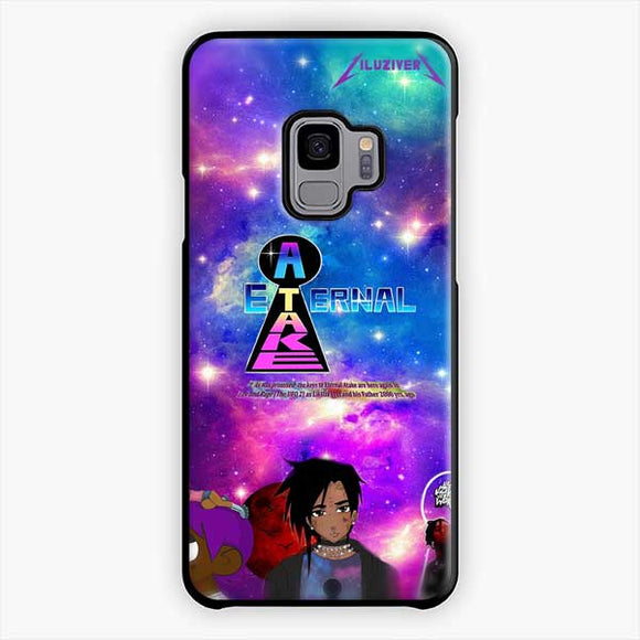 Lil Uzi Vert Eternal Atake Anime Samsung Galaxy S9 Case, Plastic Black