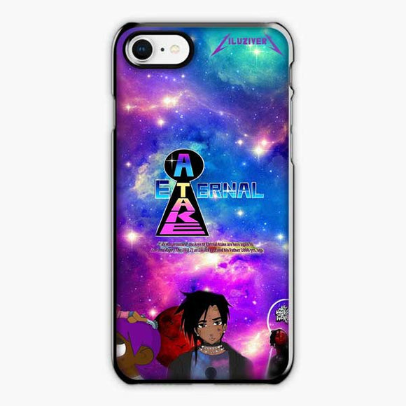 Lil Uzi Vert Eternal Atake Anime iPhone 8 Case, Plastic Black