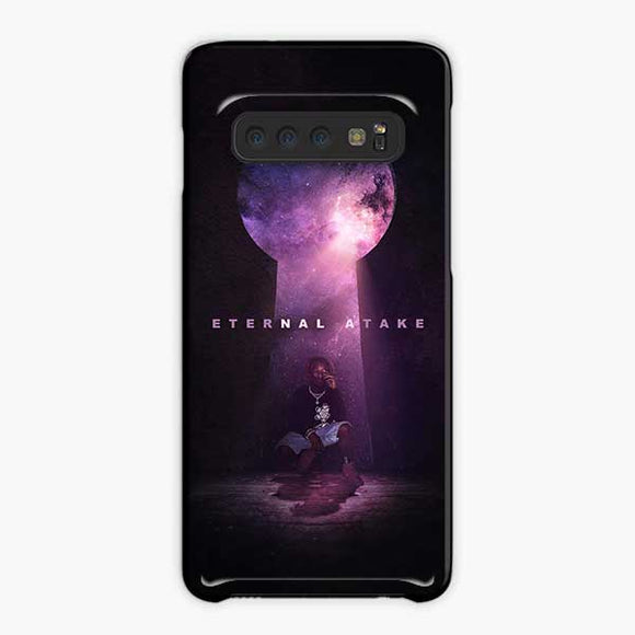 Lil Uzi Vert Eternal Atake Cry Samsung Galaxy S10 Case, Plastic Black