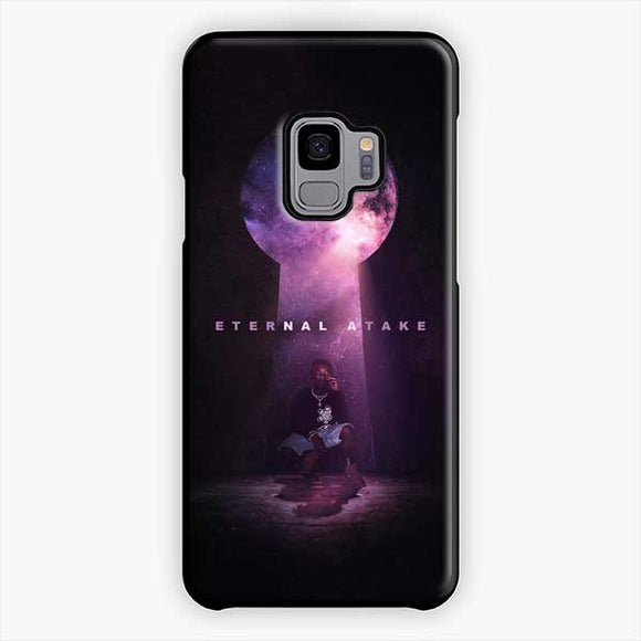 Lil Uzi Vert Eternal Atake Cry Samsung Galaxy S9 Case, Plastic Black
