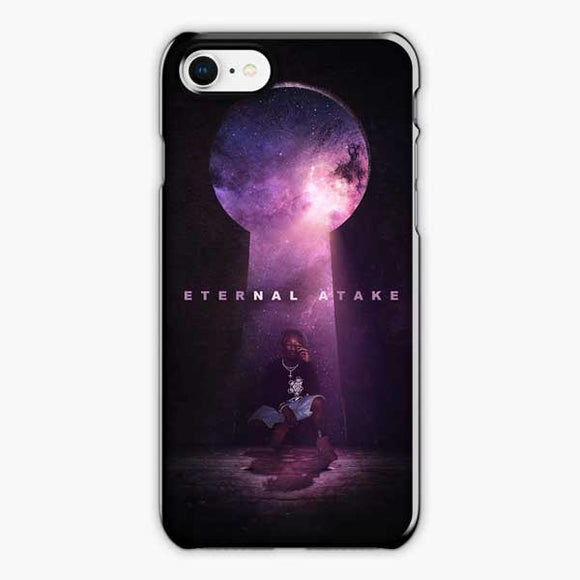 Lil Uzi Vert Eternal Atake Cry iPhone 8 Case, Plastic Black