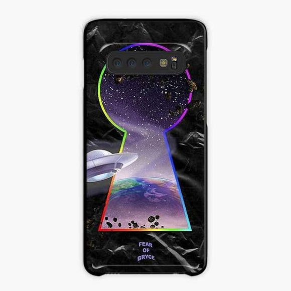 Lil Uzi Vert Fear Of Bryce Samsung Galaxy S10 Case, Plastic Black