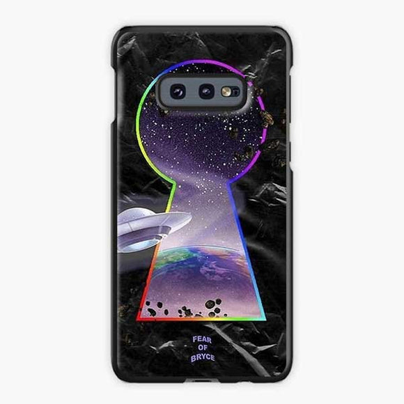 Lil Uzi Vert Fear Of Bryce Samsung Galaxy S10e Case, Plastic Black