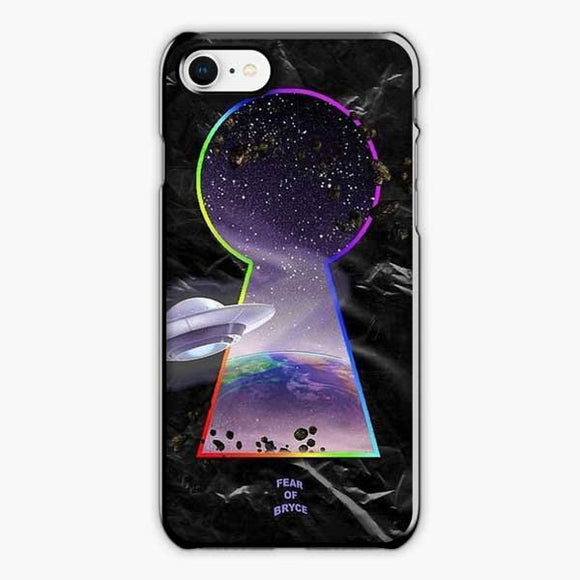 Lil Uzi Vert Fear Of Bryce iPhone 8 Case, Plastic Black
