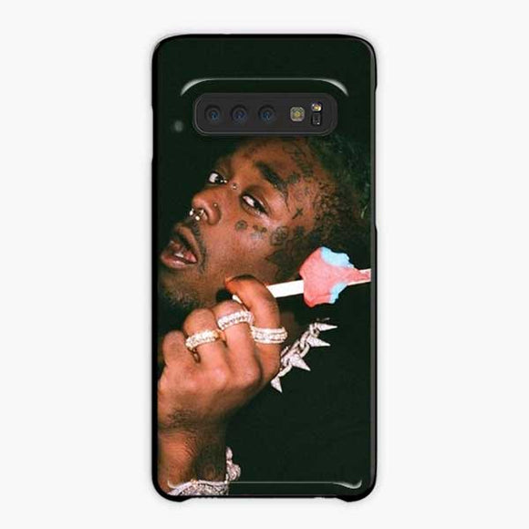 Lil Uzi Vert Ice Cream Samsung Galaxy S10 Case, Plastic Black