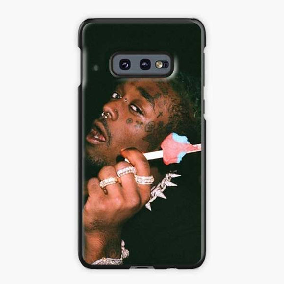 Lil Uzi Vert Ice Cream Samsung Galaxy S10e Case, Plastic Black