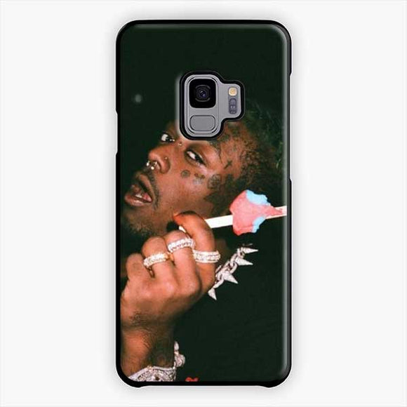 Lil Uzi Vert Ice Cream Samsung Galaxy S9 Case, Plastic Black