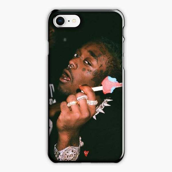 Lil Uzi Vert Ice Cream iPhone 8 Case, Plastic Black