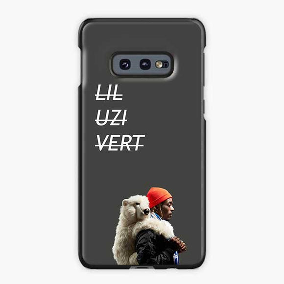 Lil Uzi Vert Luv Is Rage 2 Bear Samsung Galaxy S10e Case, Plastic Black