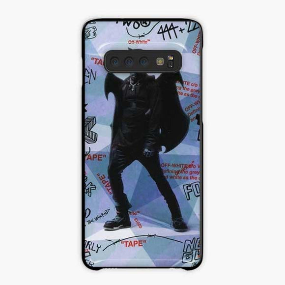Lil Uzi Vert Luv Is Rage How To Talk Samsung Galaxy S10 Case, Plastic Black