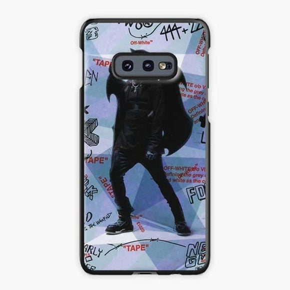 Lil Uzi Vert Luv Is Rage How To Talk Samsung Galaxy S10e Case, Plastic Black