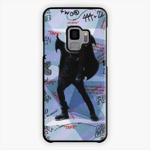 Lil Uzi Vert Luv Is Rage How To Talk Samsung Galaxy S9 Case, Plastic Black