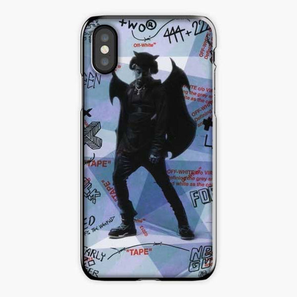 Lil Uzi Vert Luv Is Rage How To Talk iPhone XS Max Case, Plastic Black