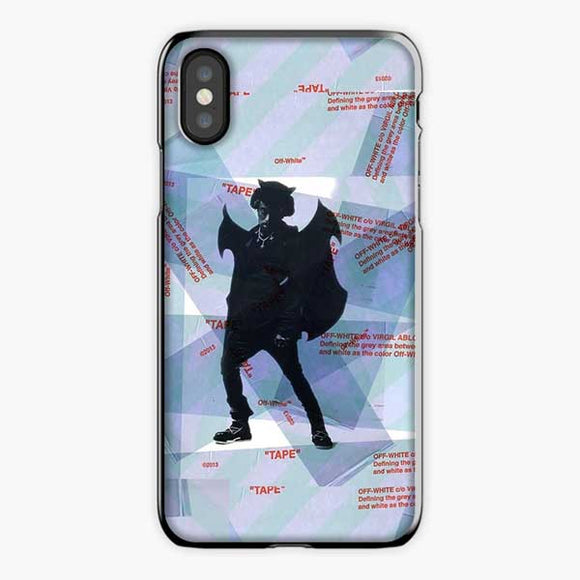 Lil Uzi Vert Luv Is Rage Off White iPhone XS Max Case, Plastic Black