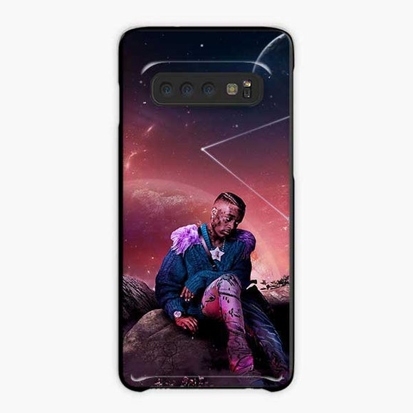 Lil Uzi Vert Rage Galaxy Star Samsung Galaxy S10 Plus Case, Plastic Black