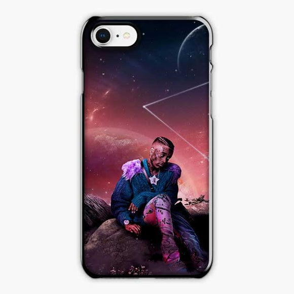 Lil Uzi Vert Rage Galaxy Star iPhone 8 Case, Plastic Black