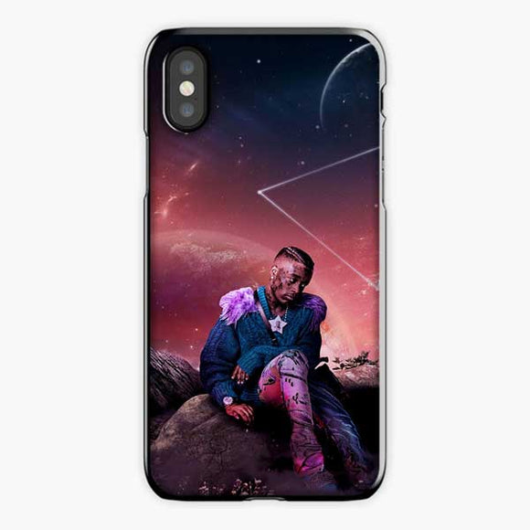 Lil Uzi Vert Rage Galaxy Star iPhone XS Max Case, Plastic Black