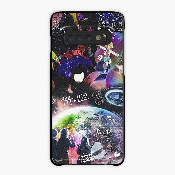 Lil Uzi Vert Rage The World Samsung Galaxy S10 Case, Plastic Black