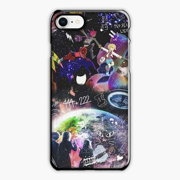 Lil Uzi Vert Rage The World iPhone 8 Case, Plastic Black