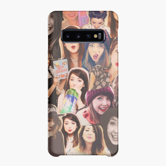 Love In Zoe Elizabeth Sugg Samsung Galaxy S10 Plus Case, Snap Case 3D Print