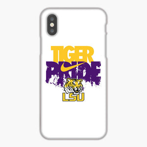 Lsu Tigers Football Nike Logo iPhone XR Case, Plastic Case, Snap Case & Rubber Case