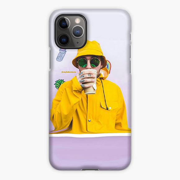 Mac Miller Drink iPhone 11 Pro Max Case, Plastic Case, Snap Case & Rubber Case