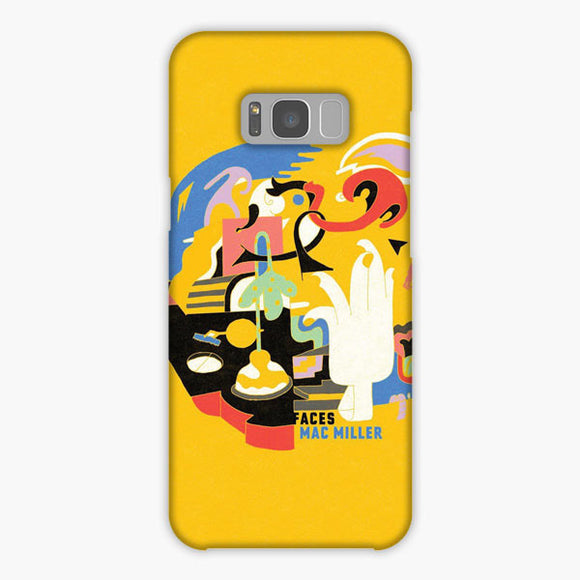 Mac Miller Faces Samsung Galaxy S8 Plus Case, Snap Case 3D Print