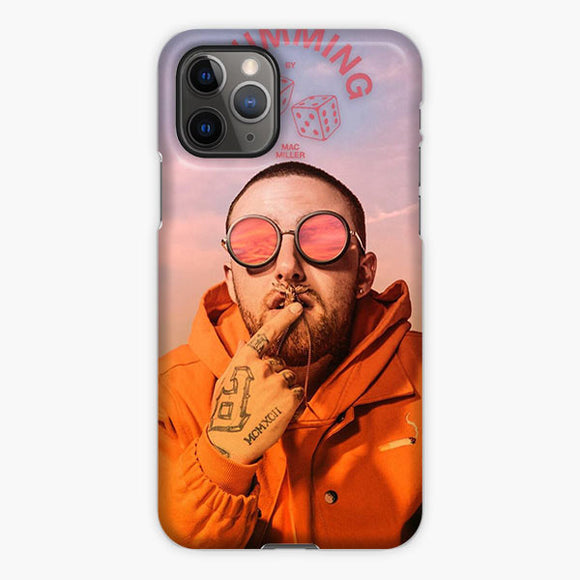 Mac Miller Swimming iPhone 11 Pro Max Case, Plastic Case, Snap Case & Rubber Case