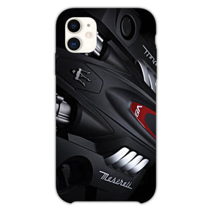 Maserati Quattroporte Engine iPhone 11 Case