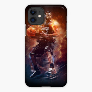 Miami Heat Nba Lebron James iPhone 11 Case, Plastic Case, Snap Case & Rubber Case