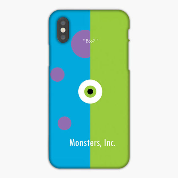 Monster Inc Sulley iPhone XS Case