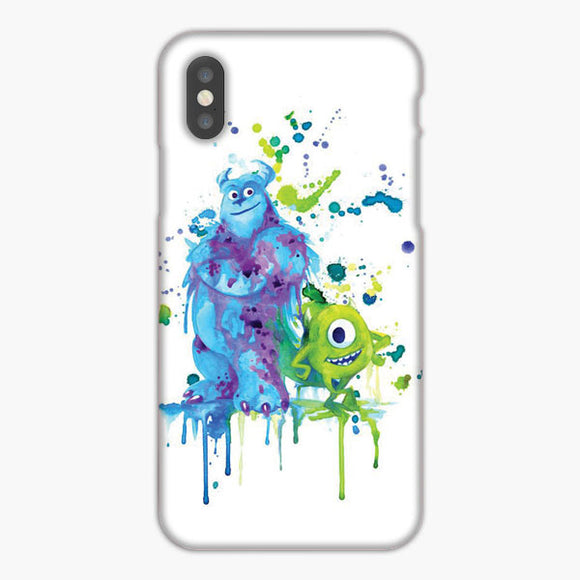 Monster University Inc Watercolor iPhone XS Case