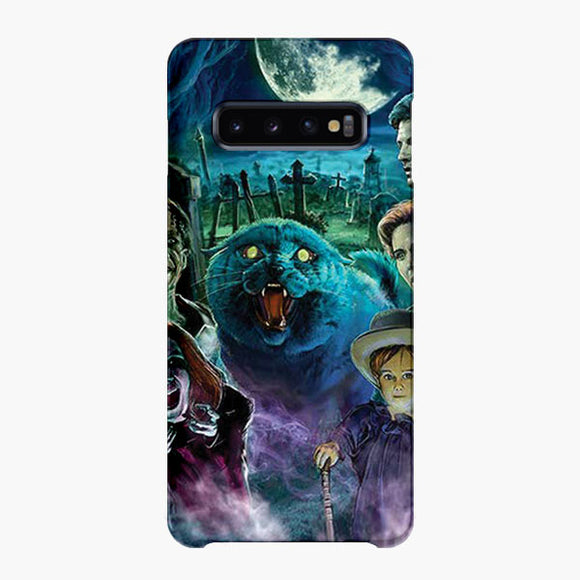 Monsterman Graphic 3 Sizes Pet Sematary Samsung Galaxy S10 Plus Case, Snap Case 3D Print