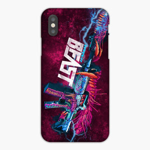 Mr Hyper Beast iPhone XS Max Case, Plastic Case, Snap Case & Rubber Case