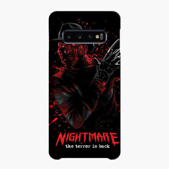 Nightmare Freddy Krueger Samsung Galaxy S10 Plus Case, Snap Case 3D Print