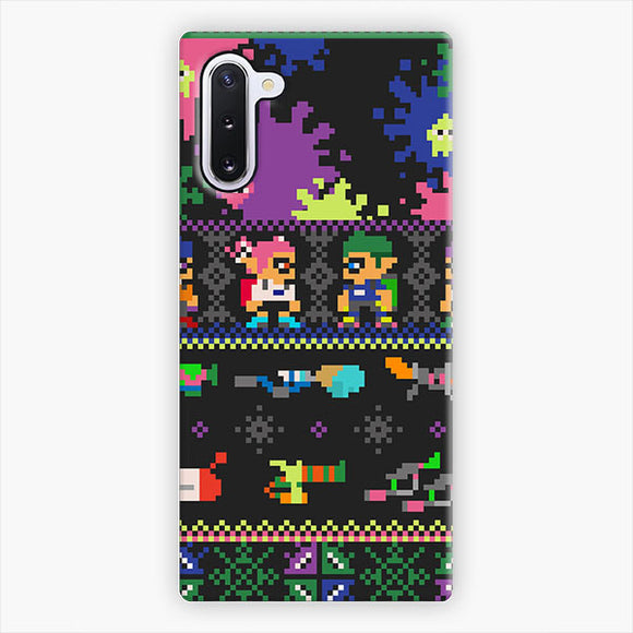 Nintendo Switch Splatoon Technology Samsung Galaxy Note 10 Case, Snap 3D Case