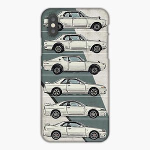 Nissan Skyline Gtr History iPhone XS Max Case