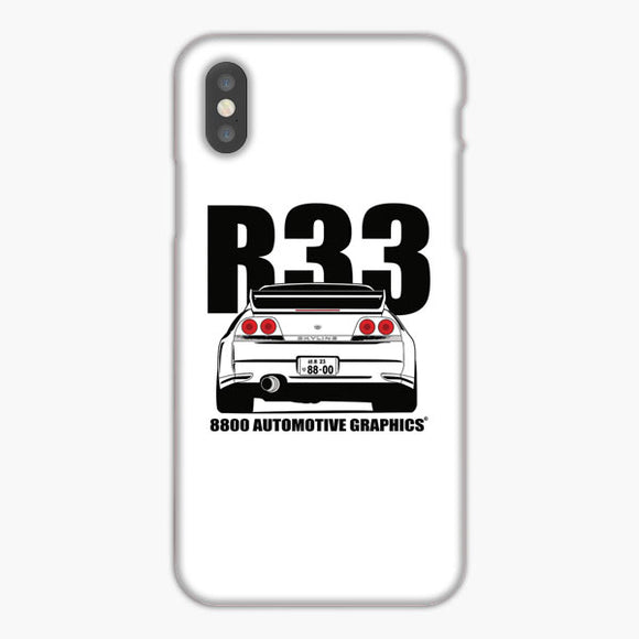 Nissan Skyline R33 Transparent Version iPhone XS Max Case