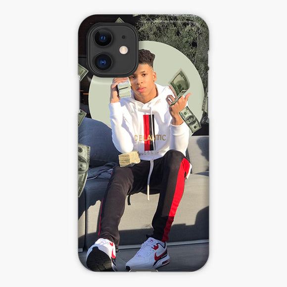 Nle Choppa Cartoon Money Money iPhone 11 Case, Plastic Case, Snap Case & Rubber Case