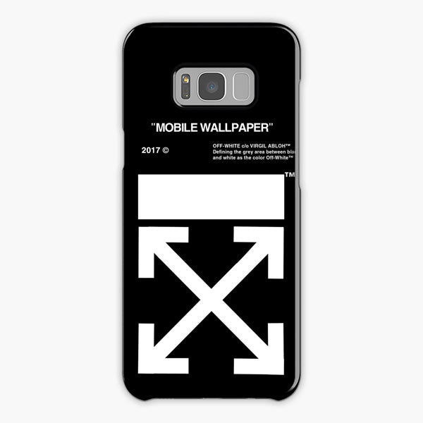 Off White Arrows Samsung S8 Case Galaxy S8 Cover Plastic Snap Rubber