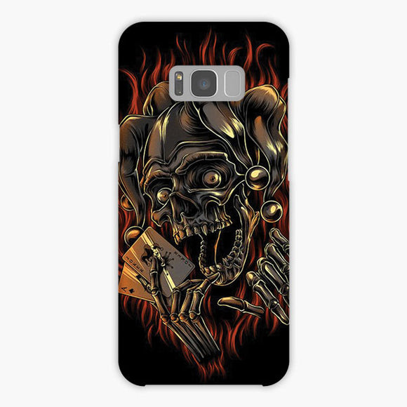 Oker The Skull Samsung Galaxy S8 Case, Snap Case 3D Print