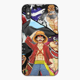 One Piece Monkey D Luffy And Yonko Members iPhone XS Case