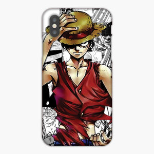 One Piece Monkey D Luffy Artwork iPhone XS Case