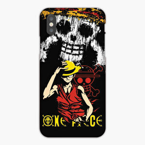 One Piece Monkey D Luffy iPhone XR Case