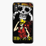 One Piece Monkey D Luffy iPhone XS Case